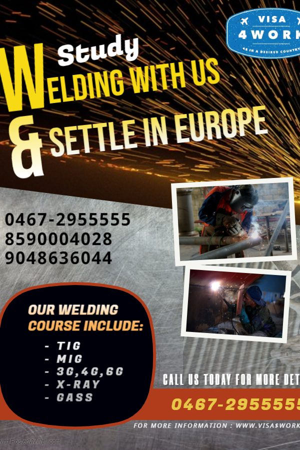 Copy of Custom Welding Flyer - Made with PosterMyWall